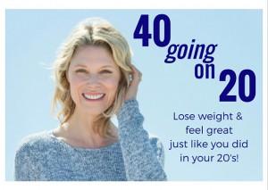 40 going on 20! CC
