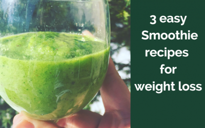 3 easy smoothie recipes for weight loss